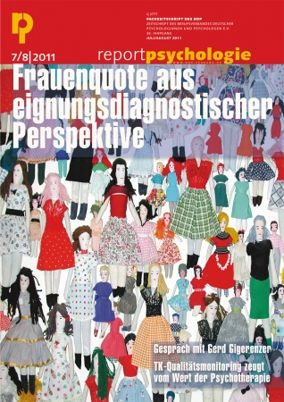 Report Psychologie 7-8/2011