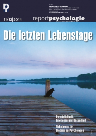 Report Psychologie 11-12/2014