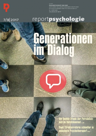 Report Psychologie 7+8/2017