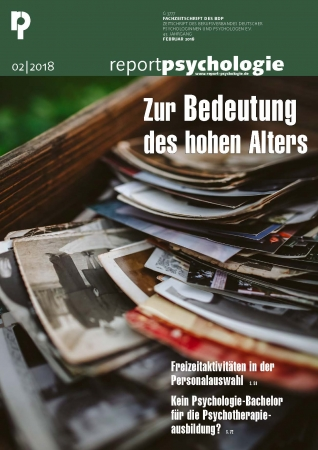Report Psychologie 2/2018