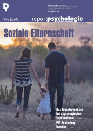 Report Psychologie 7+8/2018
