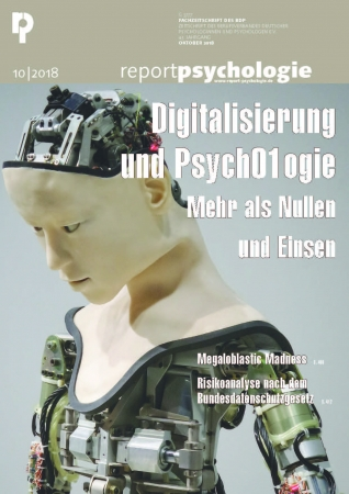 Report Psychologie 10/2018