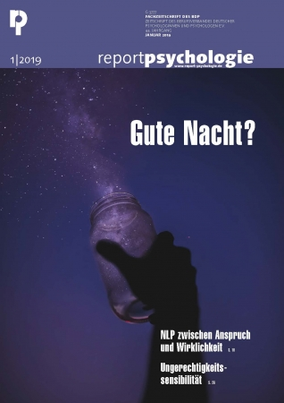 Report Psychologie 1/2019