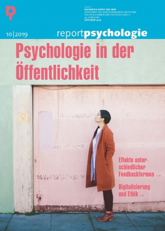 Report Psychologie 10/2019