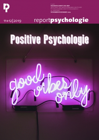 Report Psychologie 11+12/2019