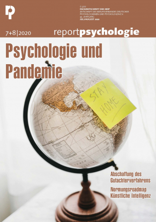 E-Paper Report Psychologie 7+8/2020