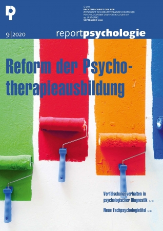 Report Psychologie 9/2020